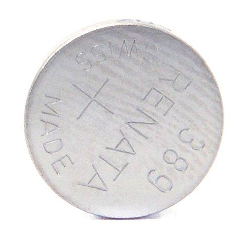 Renata - Pile bouton oxyde argent 389 RENATA 1.55V 80mAh - Blister(s) x 1