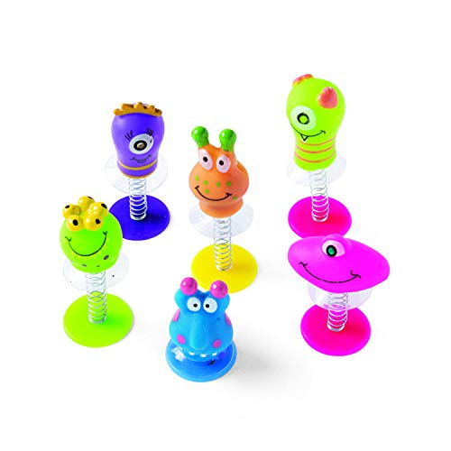 Fun Express - Monster PoP-Ups - Toys - Character Toys - Poppers & Pop - Ups - 12 Pieces