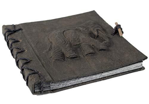 Life Arts Elefant Rinde Fotoalbum Handgefertigt Kleines Asche