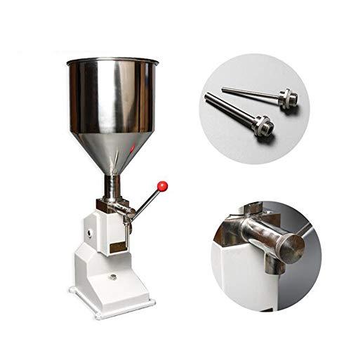 Rellenar manual Alimentación Machine presión de mano Pegar Vendido crema de miel...