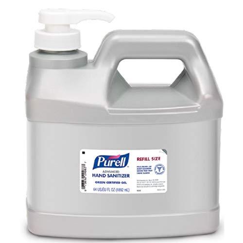 Purell Advanced Hand Sanitizer Green Certified Gel Refill Bottle