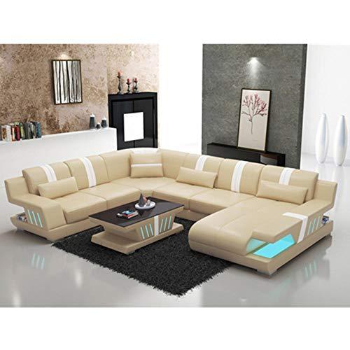 Winpavo Sofá Conjunto De Sofás Sofá De La Esquina Sofá Modular Recién Llegado Diseño Moderno En Forma De U Seccional 6 7 Plazas Tela O Sofá De Cuero Esquina Personalizado-Una