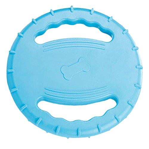 Legendog Scheibe Hund, Schwimmend Quietschend Hunde Frisb Scheiben | Quietschspielzeug Hund | Spiele für Hunde | Outdoor Training Spielzeug für Hunde Welpen