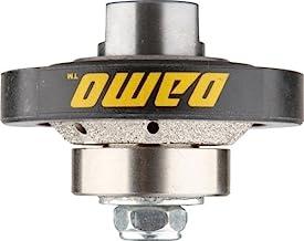 DAMO 3/16 inch Bevel Diamond Hand Profiler Router Bit Profile Wheel with 5/8-11 Thread..