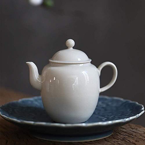 Amazing Deal WXQ-XQ Tea Sets Ceramic Porcelain_Jingdezhen Grass Wood Gray Ball Hole Ceramic Filter G...