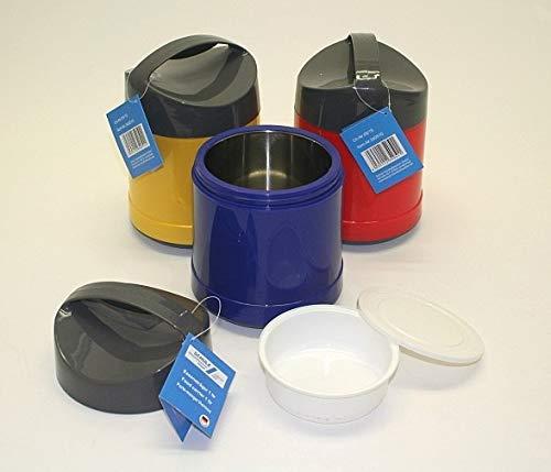 Chriluka Eisehälter Eiskübel Eiskühler Thermobehälter für EIS Eiswürfel Eiswürfelbehälter Transportbehälter 1 Liter