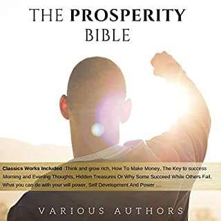 The Prosperity Bible audiobook cover art
