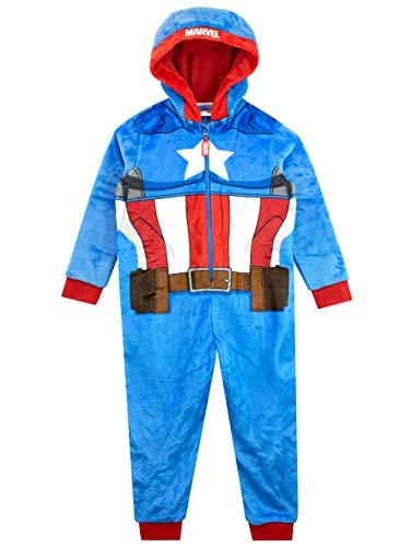 Marvel Pijama Entera para niños Captain...