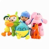 J-MWJ Peluche Muñeca Doll Soft Peluche Party Party Supplies Regalos para bebés J-MWJ ( Color : 6pcs per Lot , Height : 12cm 30cm )