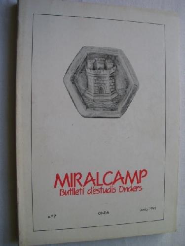MIRALCAMP. BUTLLETÍ D´ESTUDIS ONDERS