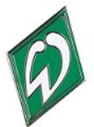 Flaggenfritze Pin Werder Bremen Raute - 2 x 2 cm + gratis Aufkleber