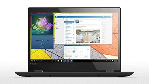 'Lenovo Yoga 520–14ikb–Notebook Convertibile da 14HD, Intel Core i3, 4GB di RAM, 128GB di SSD, Windows Home 10, Nero, tastiera QWERTY spagnola