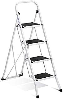 Delxo Folding 4 Step Ladder Ladder