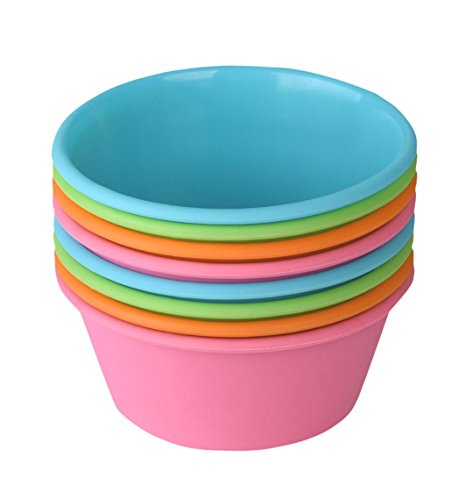 Bakerpan Silicone Mini Cake Pan, Large Muffin Cup, 3 1/2 Inch Baking...