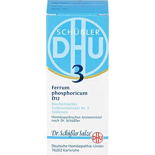 DHU Schüßler-Salz Nr. 3 Ferrum phosphoricum D12 Tabletten, 80 St. Tabletten