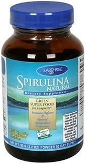 Earthrise  Spirulina Natural, 90 Grams Powder