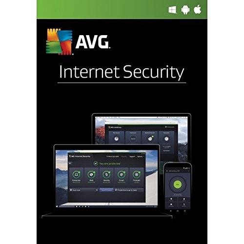 AVG Internet Security 2017 - 1 Anno 1 PC OEM