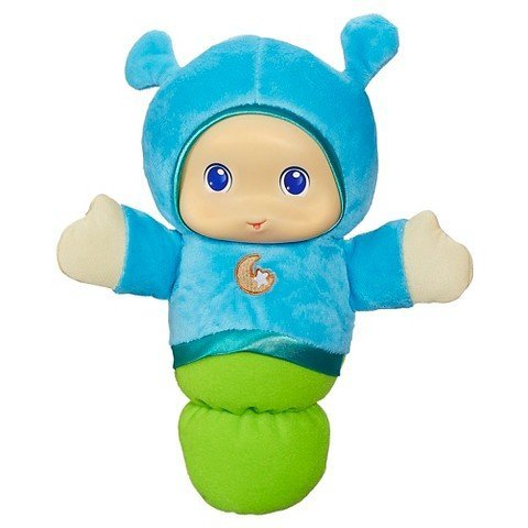 Playskool Play Favorites Lullaby Gloworm Lights up Musical Toy - Blue