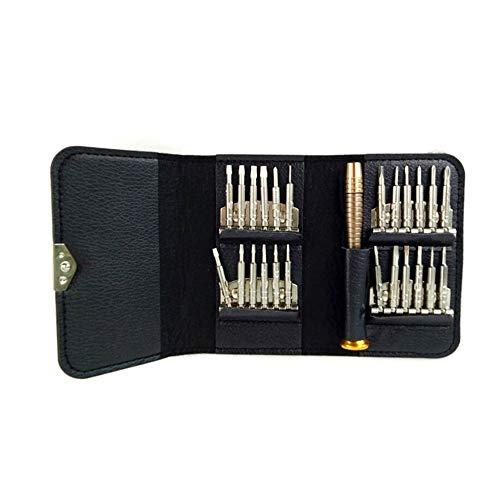 CPH20 Juego de destornilladores de 25 piezas Desmontar destornillador Kit de herramientas portátil para la reparación del hogar de la electrónica