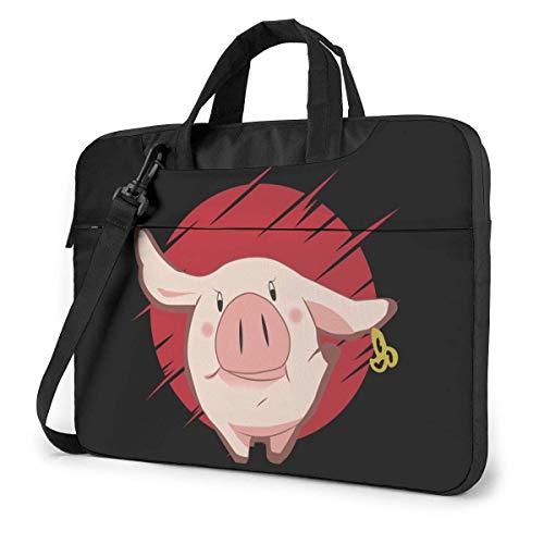 XCNGG Siete pecados Capitales Nanatsu no Taizai Anime Laptop Hombro Messenger Bag Tablet Computadora Mochila de Almacenamiento Bolso de Mano 13 Pulgadas