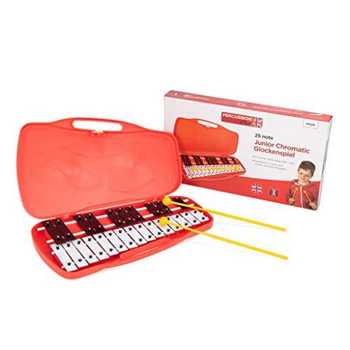 Percussion Plus - Glockenspiel per bambini, custodia inclusa