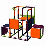 Moveandstic 875056 - Grundbaukasten Profi grün apfelgrün Titan grau rot (titangrau apfelgrün...