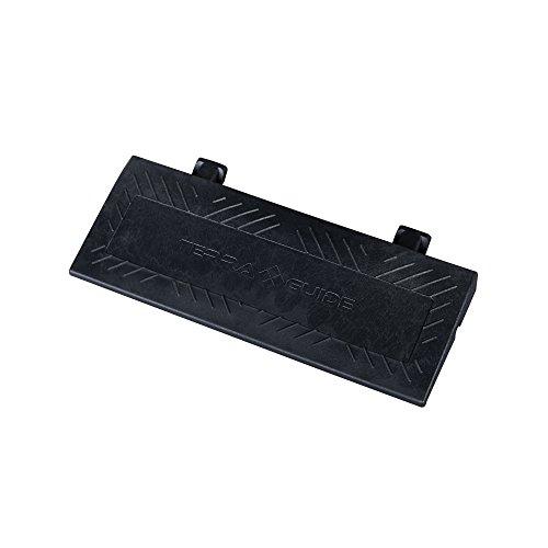TERRAGUIDE Rampa di accesso per piastrelle flessibili per pavimento, nero