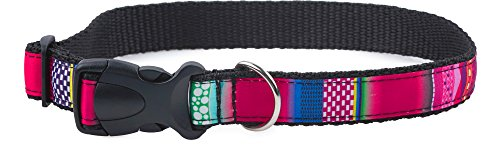 Garronda Collare per Cani 50 cm - 70 cm 673 (Mosaico/Rosa2, 50 cm - 70 cm)
