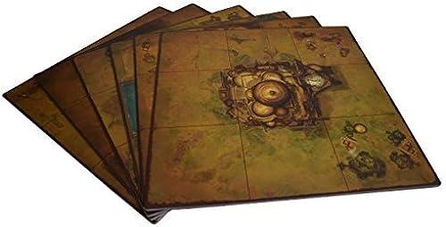 calidad fantástica Golem Arcana Set Set Set 2 Map Tiles Board Game by Harebrained Holdings  oferta de tienda