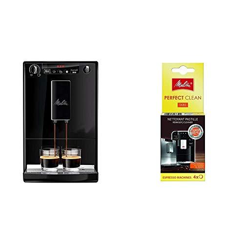 Melitta Caffeo Solo Cafetera Molinillo, 15 Bares, Café en Grano para Espresso,...