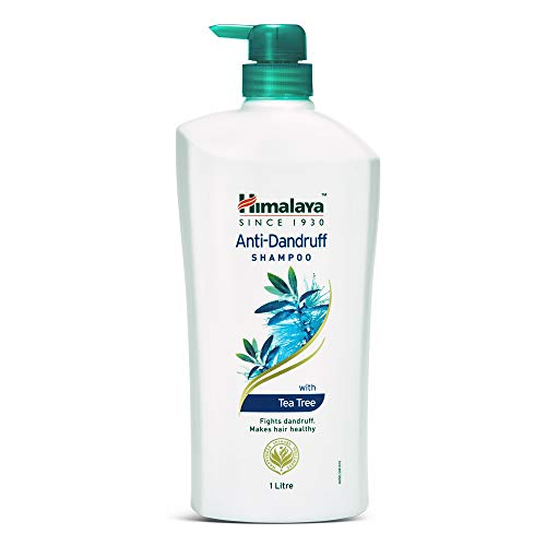 Himalaya Anti Dandruff Shampoo With Tea Tree Removes Dandruff & Soothes Sclap, 1000 ml