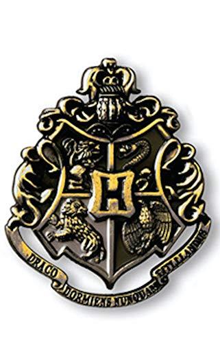 Preisvergleich Produktbild The Noble Collection Die Edle Kollektion Hogwarts-Wappen Gun Metal Pin