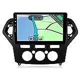 YUNTX Android 10 2 DIN Autoradio para Ford Mondeo (2007-2010) - 10.1 Pulgadas - 2G+32G - Gratis Cámara&Canbus - Soporte Dab / Control del Volante / WiFi / Bluetooth 5.0 / MirrorLink / CarPlay / USB