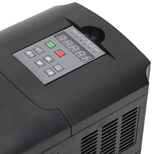 Luroze Convertidor de frecuencia A2-8075, convertidor de frecuencia Seguro con Funciones integrales para Motor de 180-250 V
