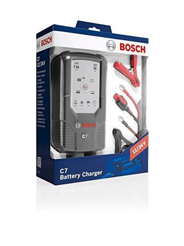 Bosch C7 Puissant chargeur de batterie 12 et 24V, 7A