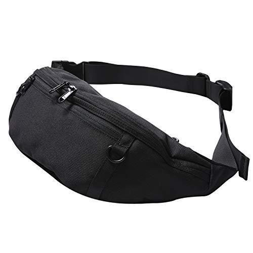 STREAM EXCHANGE[Amazon限定ブランド]ウエストバッグ ボディバッグ ショルダーバッグ ウエストポーチ 7ポケット 大容量 防水ポケット メンズ レディース
