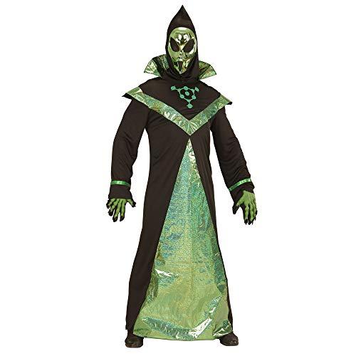 Widmann 03983 ? Adultes Costume Alien, Robe avec Masque
