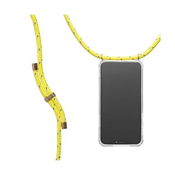 KNOK Funda con Cuerda para iPhone XR Colgar movil Cuello Funda con Correa Colgante con Cordon para Llevar en el Cuello Customizable Cord/ón Intercambiable Funda Colgante para movil Carcasa