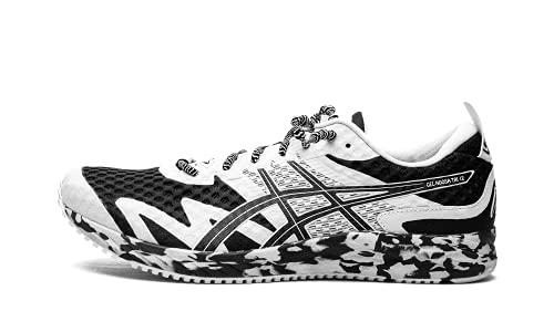 ASICS Men's Gel-Noosa Tri 12 Running Shoes, 10, Black/White