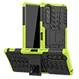 HAOYE Case for Sony Xperia 5 Case, Rugged TPU/PC Double