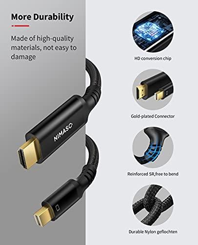 NIMASO NIMASO Câble Mini DisplayPort vers HDMI