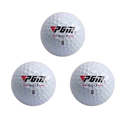 Pelotas de golf, supersoft de golf, vuelos estables, mejor elasticidad, distancia más larga, 3 unidades
