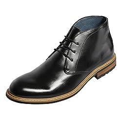 Bruno Marc Men's Bergen Leather Lined Oxfords