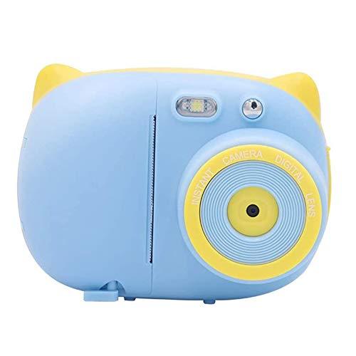 QCHEA Cámara de Juguete for niños Permitido por la cámara Mini Print Digital SLR cumpleaños Regalo de la Muchacha (Color : B)