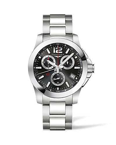 [ロンジン] 腕時計 コンクエスト 自動巻き L3.700.4.56.6 メンズ 正規輸入品 シルバー
