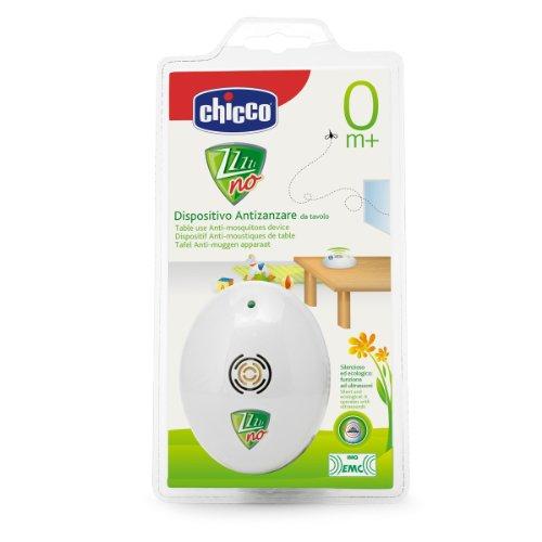 Chicco zanza-No Dispositivo antizanzare Ultrasuoni Portatile da Tavolo