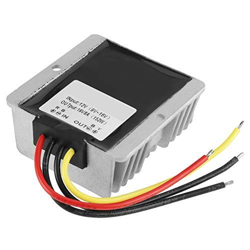 Mxzzand Módulo de Refuerzo, convertidor de Refuerzo Ajustable de 12 V a 19 V con 1 convertidor de Voltaje para Soldador para fábrica de automóviles para Planta de maquinaria