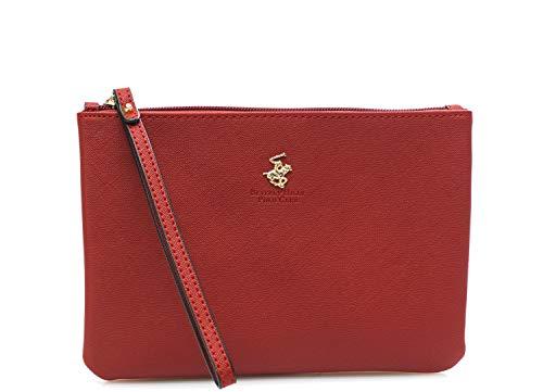 Beverly HILLS POLO CLUB - Bolso de mano rojo BH-LS500, rojo smu