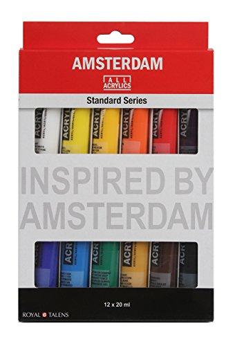 çmsterdam acr'lico 20Ml 12-Color Configurar