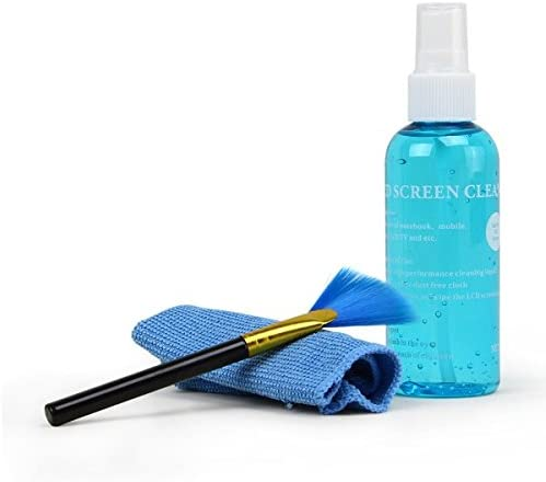 International Professional Clean Pro 3 in 1 Multi-Purpose LCD Cleaning Kit with Cloth,Brush,Liquid Solution for Camer...